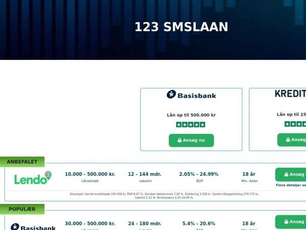 123smslaan.dk