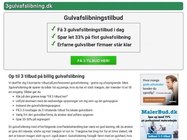 3gulvafslibning.dk