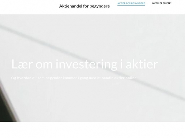 aktieopsparing.dk