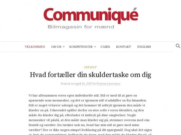 communique.dk