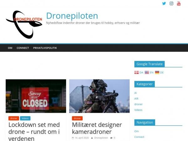 dronepiloten.dk