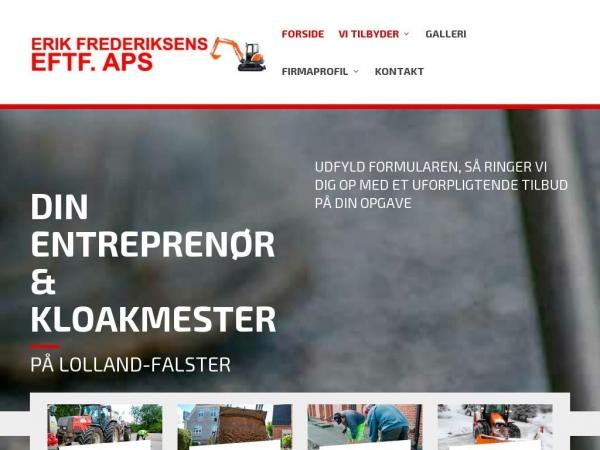 erikfrederiksenseftf.dk