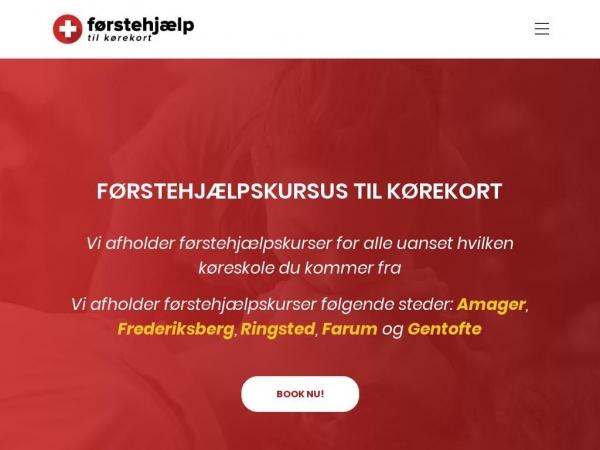 foerstehjaelptilkoerekort.dk