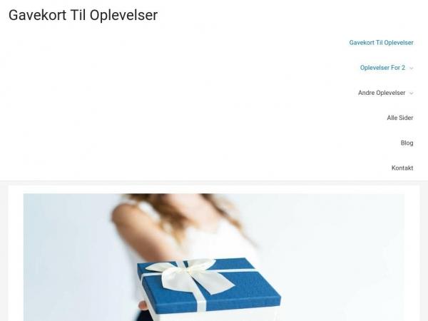 gavekort-oplevelser.dk