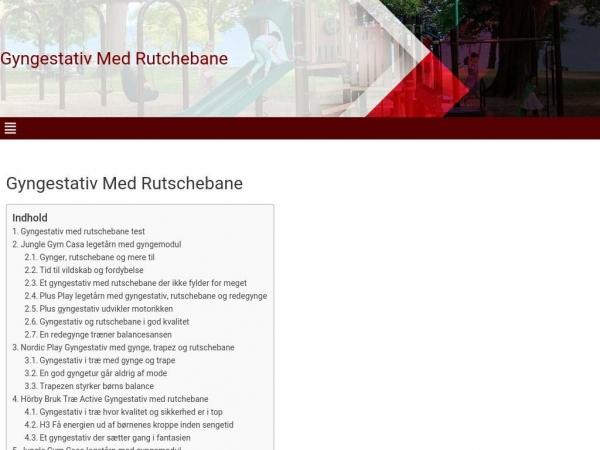 gyngestativ-med-rutchebane.dk