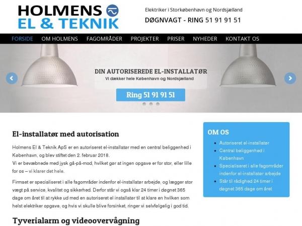 holmens-el.dk