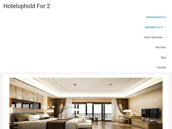 hotelophold-for-2.dk