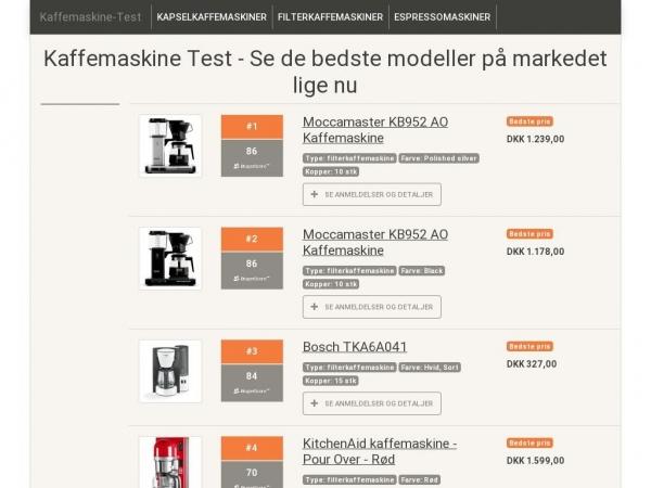 kaffemaskine-test.dk