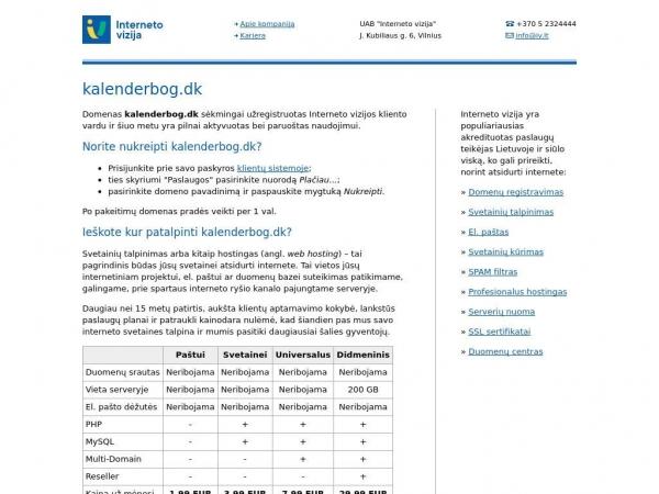 kalenderbog.dk