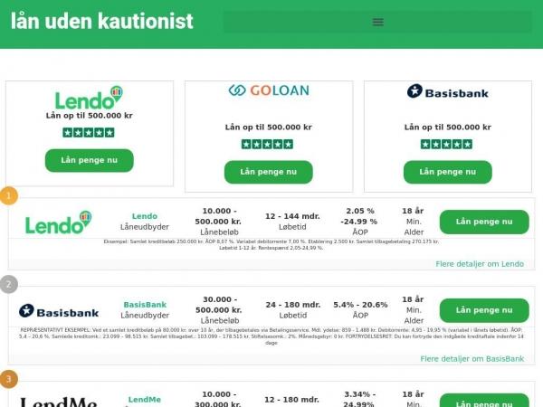 laan-uden-kautionist.dk