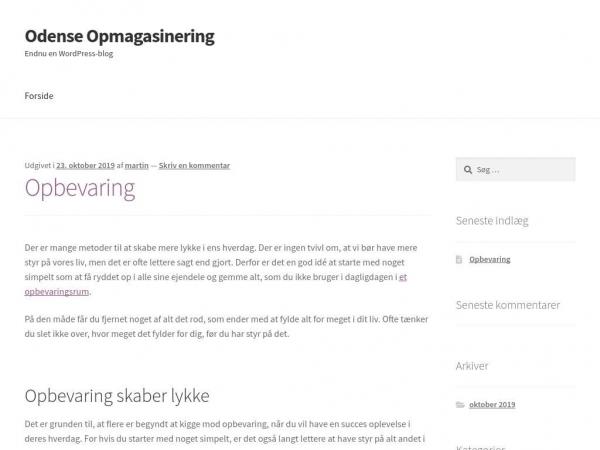 odense-opmagasinering.dk