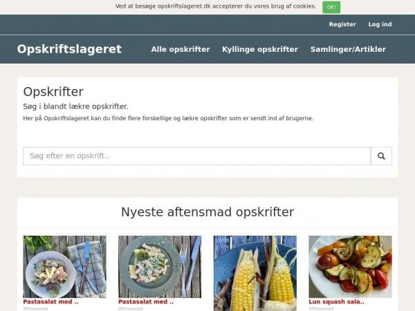 opskriftslageret.dk