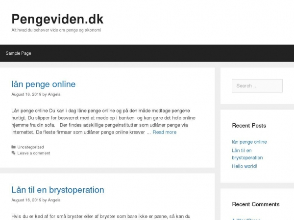 pengeviden.dk