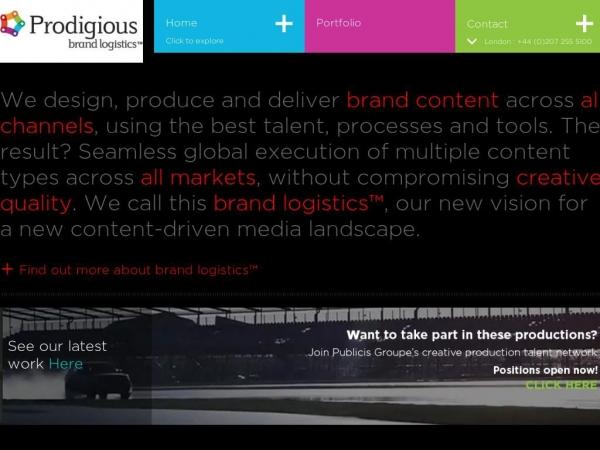 prodigious.com