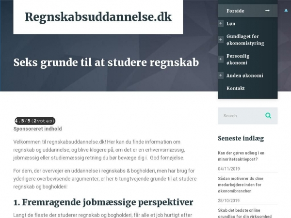 regnskabsuddannelse.dk