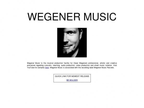 wegenermusic.dk